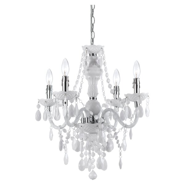 Geoffroy 4-Light Candle Style Chandelier by Willa Arlo Interiors