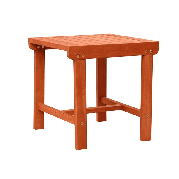 Casto Wooden Side Table by Longshore Tides