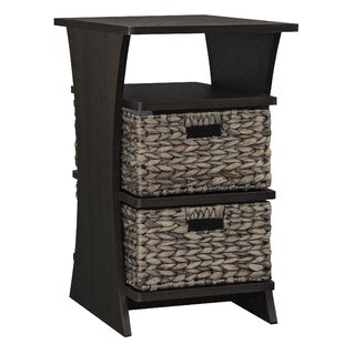 Glines End Table with Storage