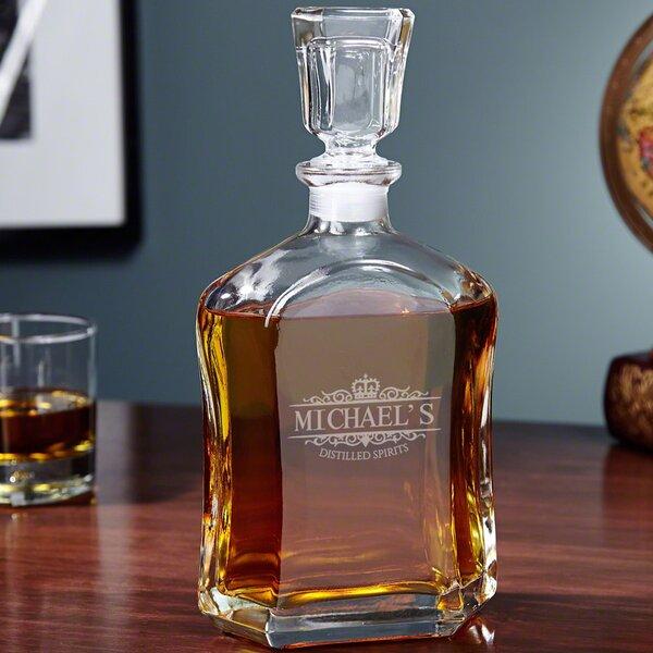 Argos Kensington Personalized 23 oz. Liquor Decanter by Home Wet Bar