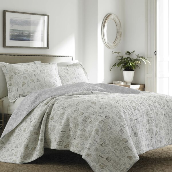 Harmony Coast Quilt Set by Laura Ashley Home by Laura Ashley Home