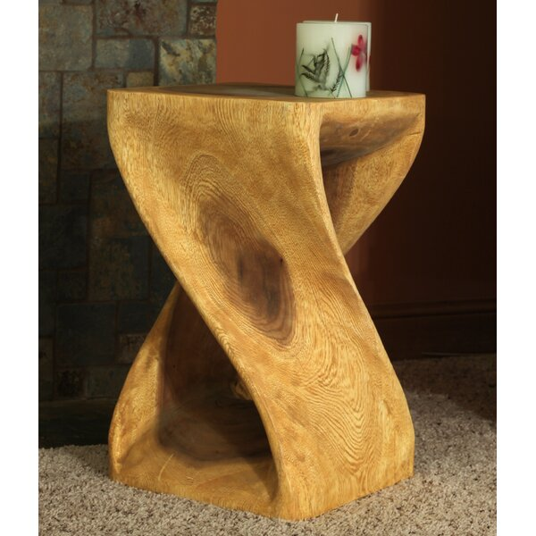 Charleston Twist End Table by World Menagerie