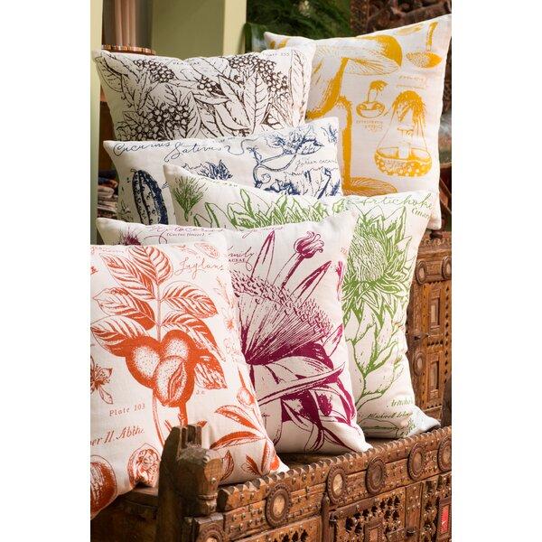 Uruli Walnut Cotton Throw Pillow By Koko Company