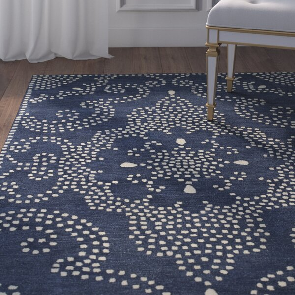 Bashford Hand Tufted Blue Area Rug by House of Hampton