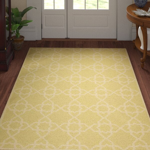 Danbury Olive/Ivory Area Rug by Three Posts