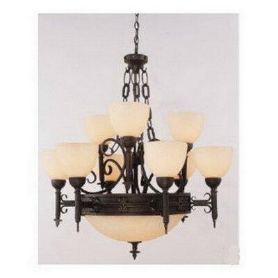Fleur De Lis Livingrabinowitz 6 Light Shaded Classic Traditional Chandelier Fleur De Lis Living Dailymail