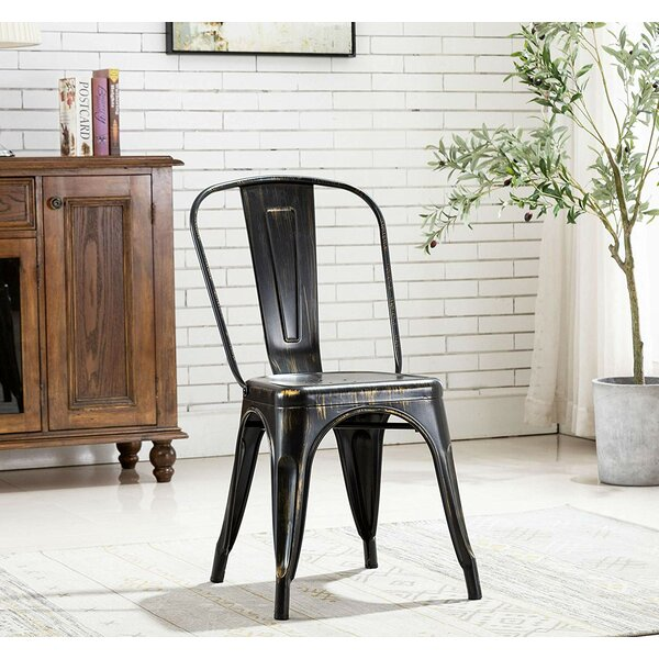 Thayer Slat Back Side Chair (Set of 4) by 17 Stories 17 Stories