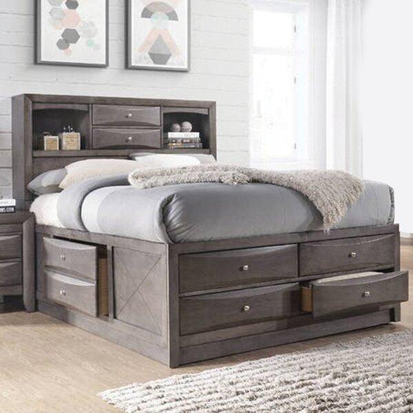 Keena Wood Storage Standard Bed by Latitude Run