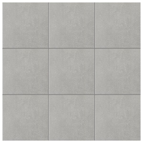 Forties 7.75 x 7.75 Ceramic Field Tile in Gray by EliteTile
