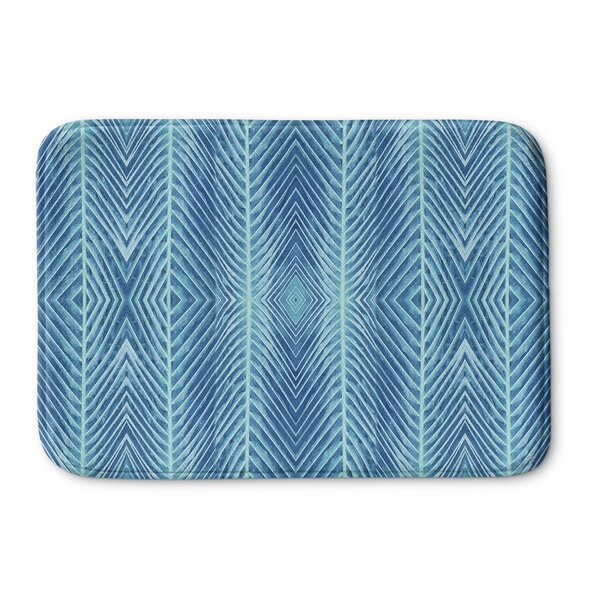 Palms Memory Foam Bath Rug by KAVKA DESIGNS