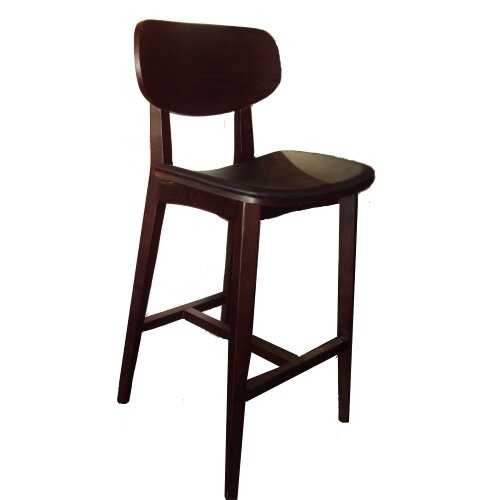 Peirce Solid Wood 41 Bar Stool by Loon Peak