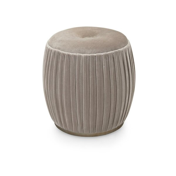 Carwile Drum Ottoman by Bungalow Rose