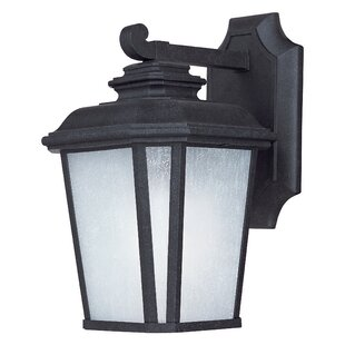 Price comparison Melrose 1-Light Outdoor Wall Lantern By Darby Home Co