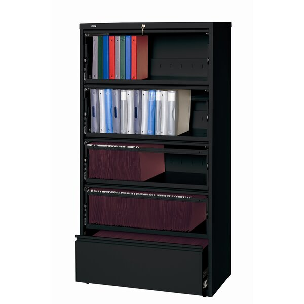 Severus Wide Commercial Lateral Files Open Filing Unit by Symple Stuff