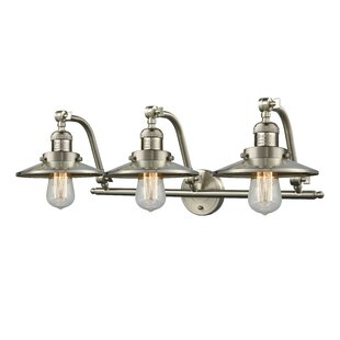 Read Reviews Mikesell 3-Light Vanity Light By Williston Forge