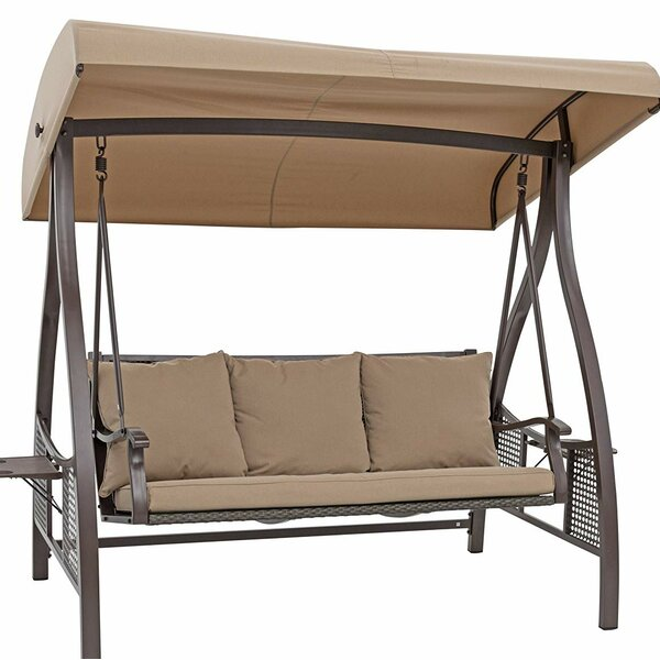Chenault Outdoor Canopy Hammock Porch Swing With Stand By Freeport Park