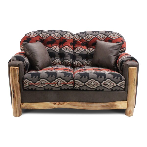 Dashing Tatman Loveseat by Millwood Pines by Millwood Pines