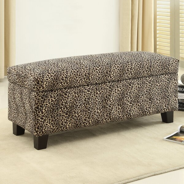 Lola Upholstered Storage Bench by Latitude Run