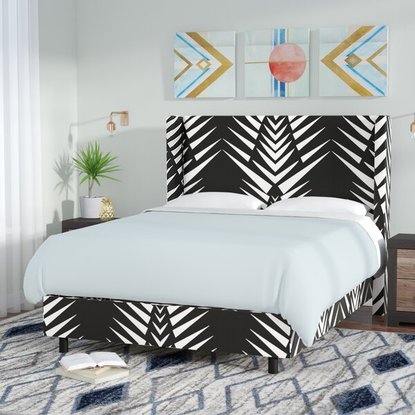 Thaxton Wingback Upholstered Standard Bed by Brayden Studio
