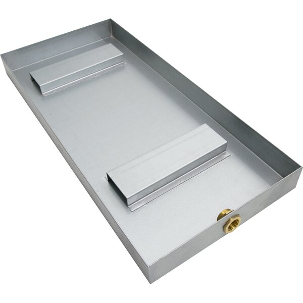 Stainless Steel Water Collecting and Drainage Pan by Steam Spa