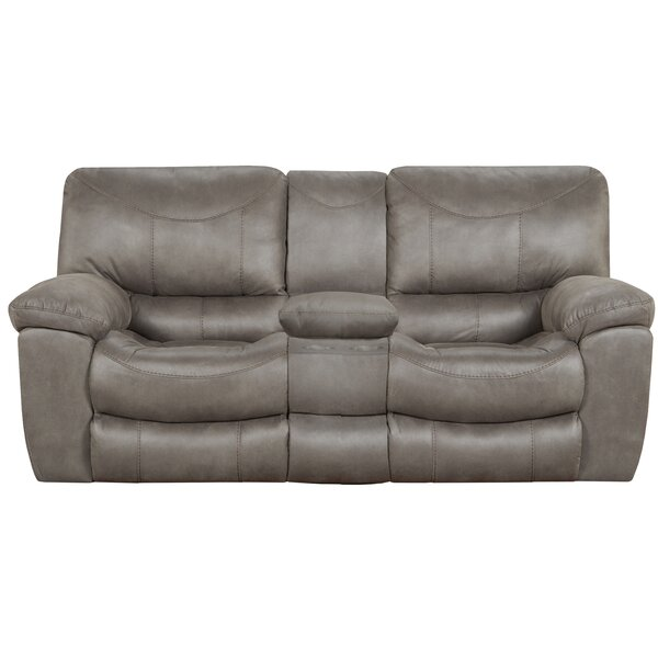 Trent Reclining 81'' Pillow Top Arms Loveseat by Catnapper Catnapper