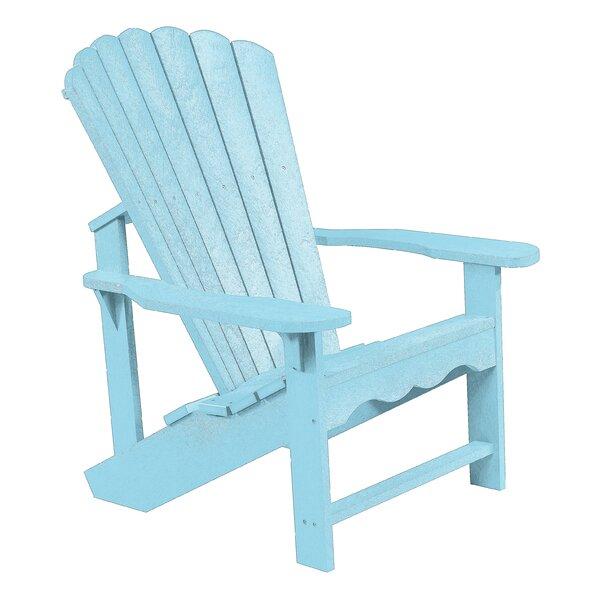 Alanna Plastic Adirondack Chair by Beachcrest Home