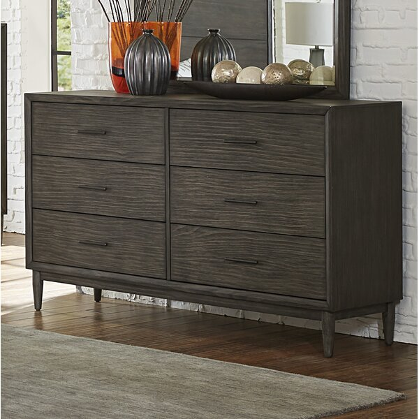 Beaverton 6 Drawer Double Dresser by Wrought Studio