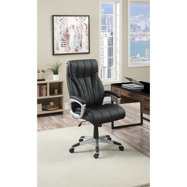 Kelty Cushioned Seat Executive Chair by Symple Stuff