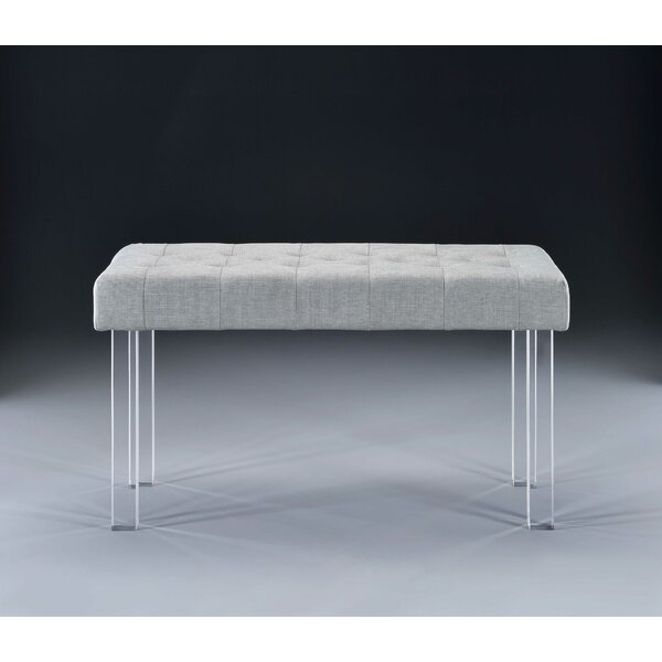 Holly Springs Upholstered Bench by Everly Quinn