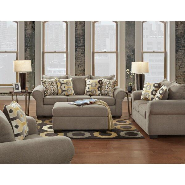 Colbie 3 Piece Configurable Living Room Set by Winston Porter Winston Porter