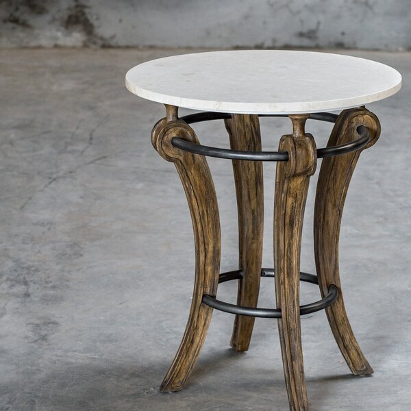 Tinney End Table by Gracie Oaks