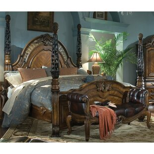 Oppulente Four Poster Bed by Michael Amini
