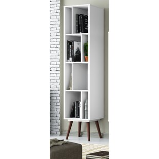 Maly Tall Cubby Standard Bookcase By Mercury Row