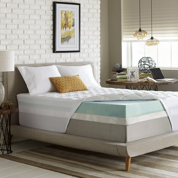 Mirabel 5.5 Gel Memory Foam Mattress Topper by Alwyn Home