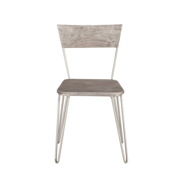 Nikhil Solid Wood Dining Chair (Set of 2) by Union Rustic
