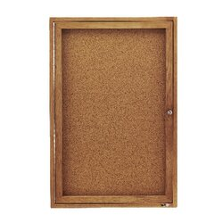 Enclosed Bulletin Board by Quartet®