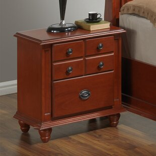 Daley 2 Drawer Night Stand
