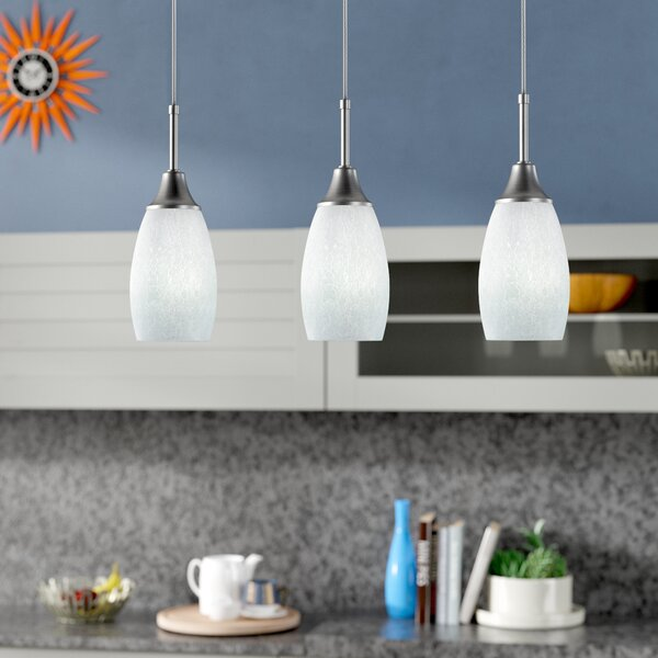 Centralia 3-Light Kitchen Island Pendant by Latitude Run