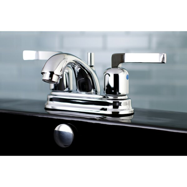 Centurion Centerset Bathroom Faucet With Drain Assembly By Kingston Brass