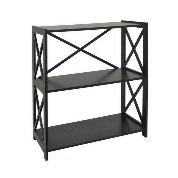Ratcliff Wood Shelf Etagere Bookcase by Charlton Home