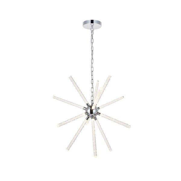 Goulding 12 - Light Sputnik Sphere LED Chandelier by Orren Ellis Orren Ellis