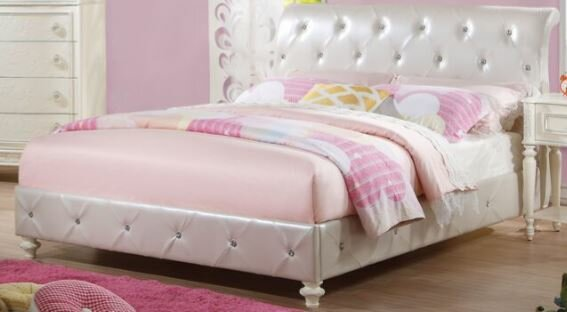 Ector Upholstered Sleigh Bed by Harriet Bee