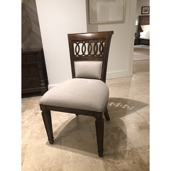 Old Town Queen Anne Back Side Chair In Barrister (Set Of 2) By Stanley Furniture