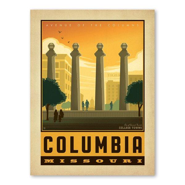 Columbia Missouri Vintage Advertisement by Americanflat