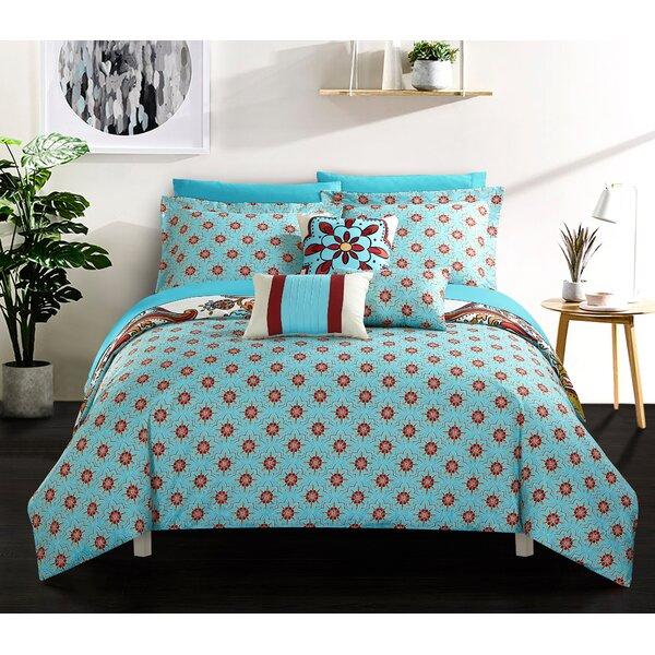 Charlesville 10 Piece Reversible Comforter Set by Latitude Run