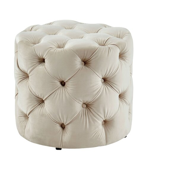 Kairo Tufted Ottoman by House of Hampton