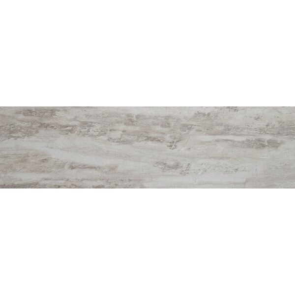 Mansfield 8 x 36 Porcelain Wood Look Tile in Silver Springs by Itona Tile