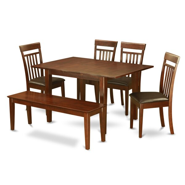 @  Picasso 6 Piece Extendable Dining Set By Wooden Importers Spacial Price