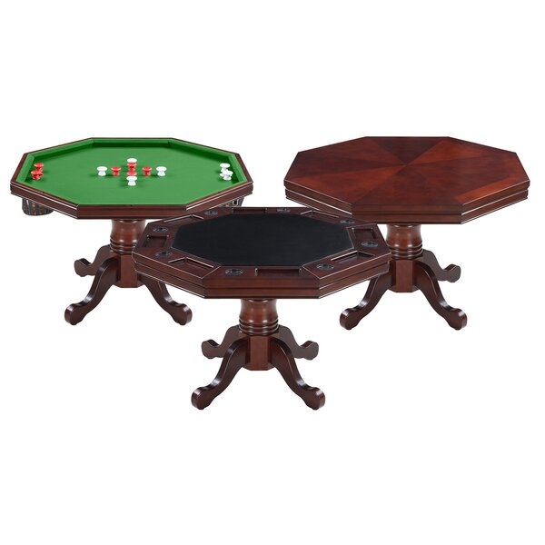 48-inch Kingston Poker and Bumper Pool Table by Hathaway Games Hathaway Games