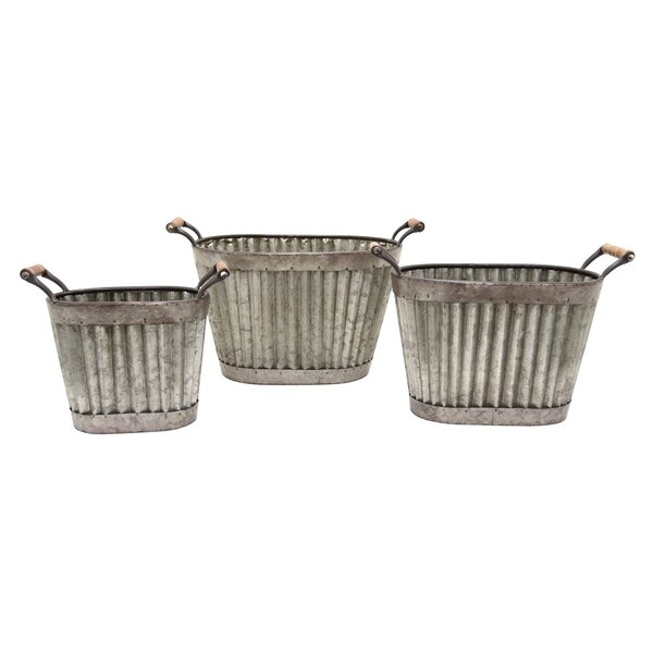 Cuadrado 3-Piece Pot Planter Set by August Grove
